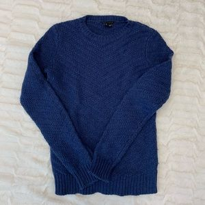 Gorgeous blue Theory sweater - worn once!